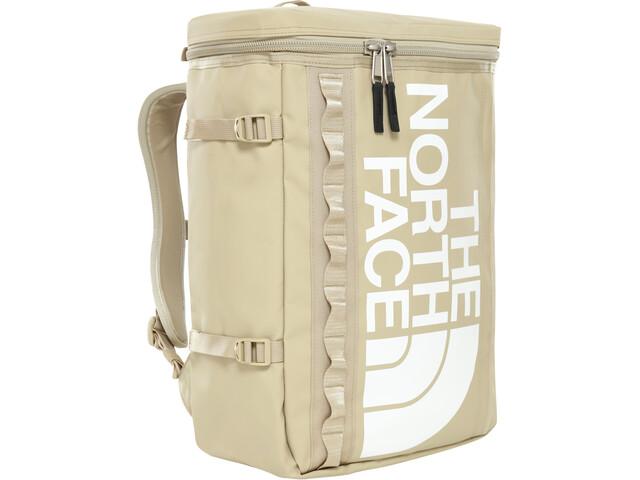 The North Face Base Camp Fuse Box Mochila, twill beige/tnf white